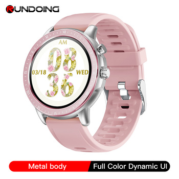 RUNDOING New Smart Watch S02 Women Men  Full Touch Screen Heart Rate Monitor Fitness Tracker Smartwatch For ios and android 1
