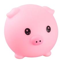 Kawaii małe świnki prezenty urodzinowe świąteczne święto dziękczynienia noworoczne prezenty dla siostrzeńców i siostrzenic koledzy z klasy podstawowej tanie tanio OOTDTY CN (pochodzenie) Tv movie postaci Soft Rubber 4-6y 7-12y 12 + y Miękkie i pluszowe Animals 1 Piece Piggy Squeeze Toy