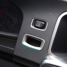 السيارات التصميم ل فولفو XC60 V60 S60 S60L V40 V40CC 2012 2016 الفولاذ المقاوم للصدأ الإشعال لفائف الترتر ملصقات اكسسوارات