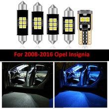 Para 2008, 2009, 2010, 2011, 2012, 2013, 2014-2016 Opel Insignia, Sedán salón Estate Hatchback deportivo 12 Uds bombilla LED luz Interior
