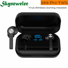 M18Pro TWS Bluetooth Earphones Wireless Touch Control Waterproof IPX7 Headset Earbuds 4000mAh Charging Case Headphones Headset i12 tws bluetooth earphone wireless earphones touch control earbuds 3d surround sound charging case for iphone android headset