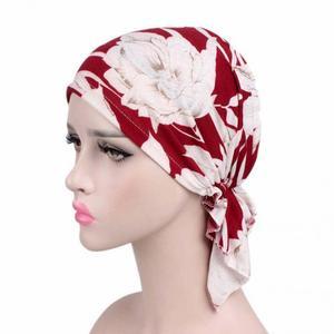 Image 4 - Chapeau de chimio en coton doux imprimé