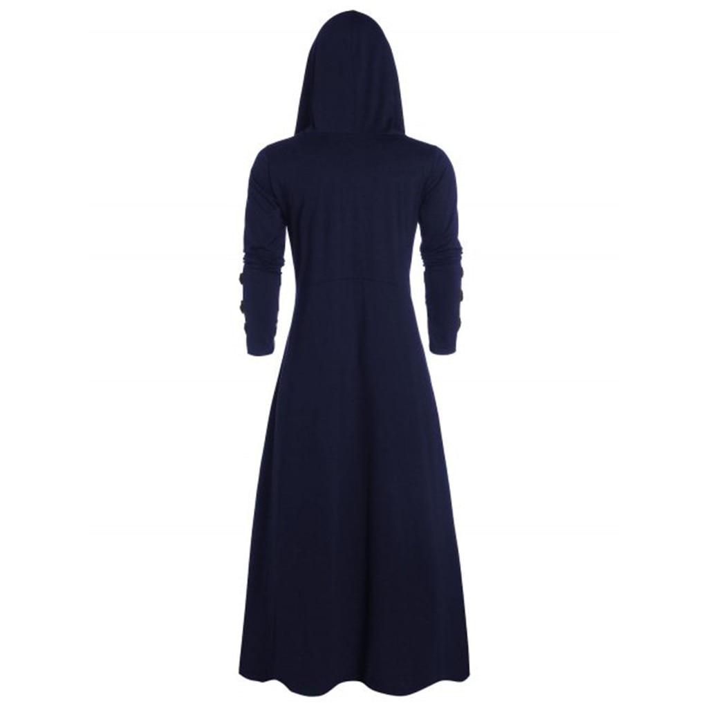 Ha16e383e3b434f6cae005ad6dc3356bdz Men's Trench Retro Steam Punk Gothic Wind Cloak Coat Black Solid Casual Summer Plain Cap Cardigan Business Long Sleeve Coat Men