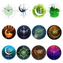 ИД мусульманские настенные часы с узором трехмерные акриловые