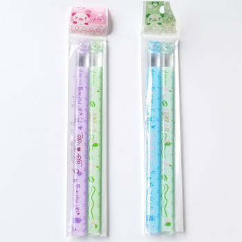 2 PCS/Lot Love Mini Ruler Learning A Good Helper 15 Cm Children's Favorite Cartoon Straight Study Measure Stationery - discount item  19% OFF Drafting Supplies