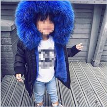Autumn Winter 2019 Girls Coats And Jackets Kids Artificial F