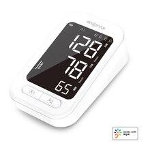 Andon inteligente braço monitor de pressão arterial batimento cardíaco medidor de pulso tonômetro esfigmomanômetros pulsometer para casa