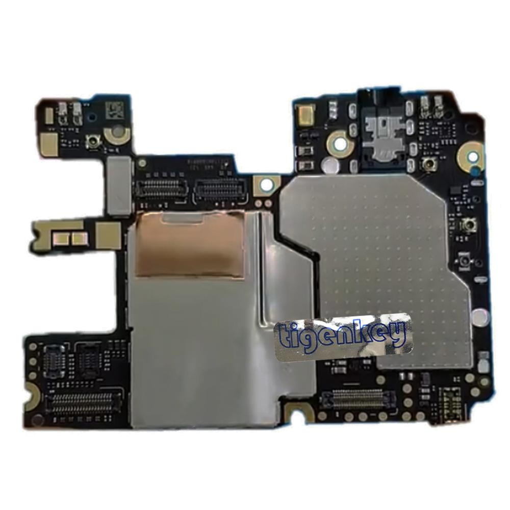 Tigenkey <font><b>Global</b></font> <font><b>Version</b></font> <font><b>32GB</b></font> For xiaomi <font><b>redmi</b></font> note <font><b>6</b></font> pro Note6Pro Mainboard Motherboard Circuits Unlocked Dual SIM image