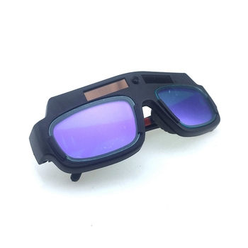 Solar Powered Auto Darkening Welding Mask Helmet Goggle Welder Glasses Arc Pc Lens Great Goggles for Welding Protection фото