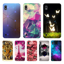 For Samsung Galaxy A10 Case Soft Silicone Flower Phone Case For Samsung Galaxy A10 A