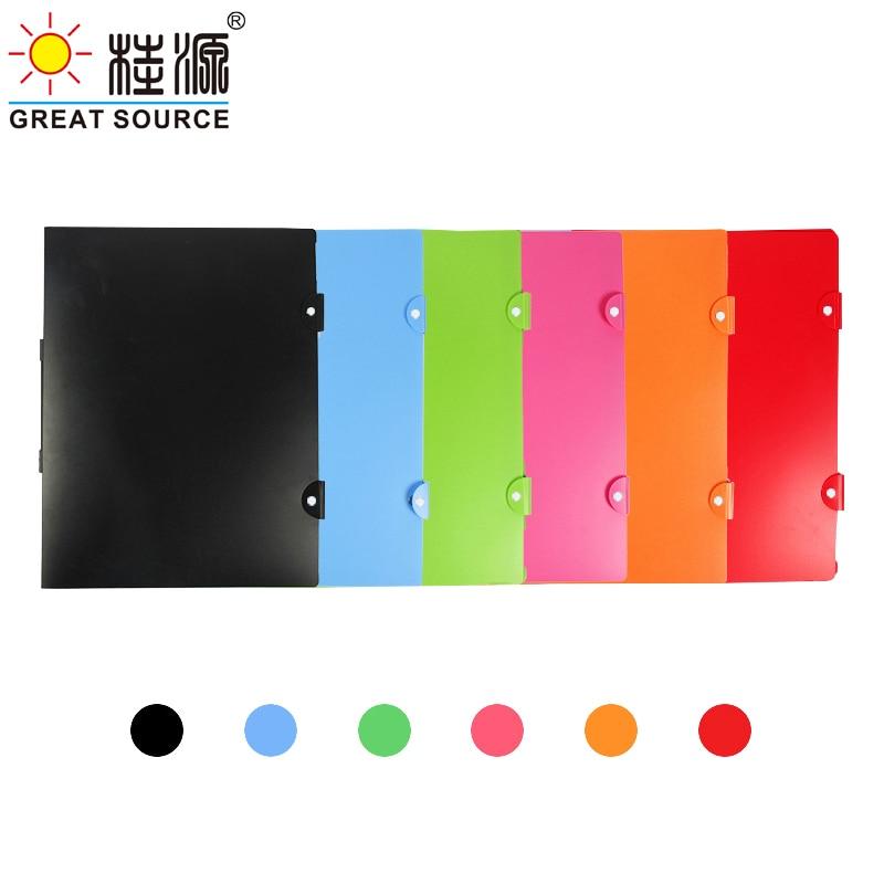 8K Painting Display Folder With Handle Sketch Presentation Book 40 Transparent Pockets Candy Color 460*345mm(18.11