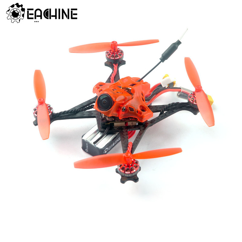 Eachine RedDevil 105mm 2-3S FPV Racing Drone Whoop PNP/BNF Crazybee F4 PRO Caddx EOS2 5.8G 25~200mW VTX RC Helicopter Quadcopter