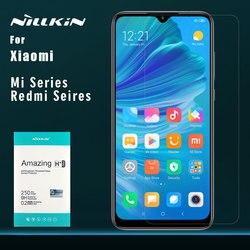 Nillkin dla Xiao mi mi 9 8 9 T Pro mi 9 8 SE A3 CC9 ochraniacz ekranu ze szkła hartowanego H + Pro dla Xiao mi czerwony mi uwaga 8 7 Pro szkła