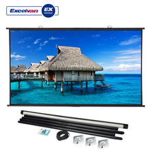 Экран проектора Excelvan 100 дюймов 120 дюймов 16:9 4K HD фильмы проекционный тканевый экран для YG300 YG400 Q2 XGIMI домашний кинотеатр
