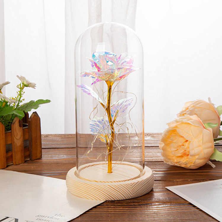 シルク多色ロマンチックな装飾ガラス用バレンタインデーの結婚式のファッション装飾雰囲気を作成ドロップシッピング