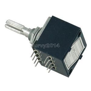 Image 4 - Rotary Potenziometro 50K LOG ALPI RH2702 Controllo del Volume Audio Pentola Stereo W Volume L