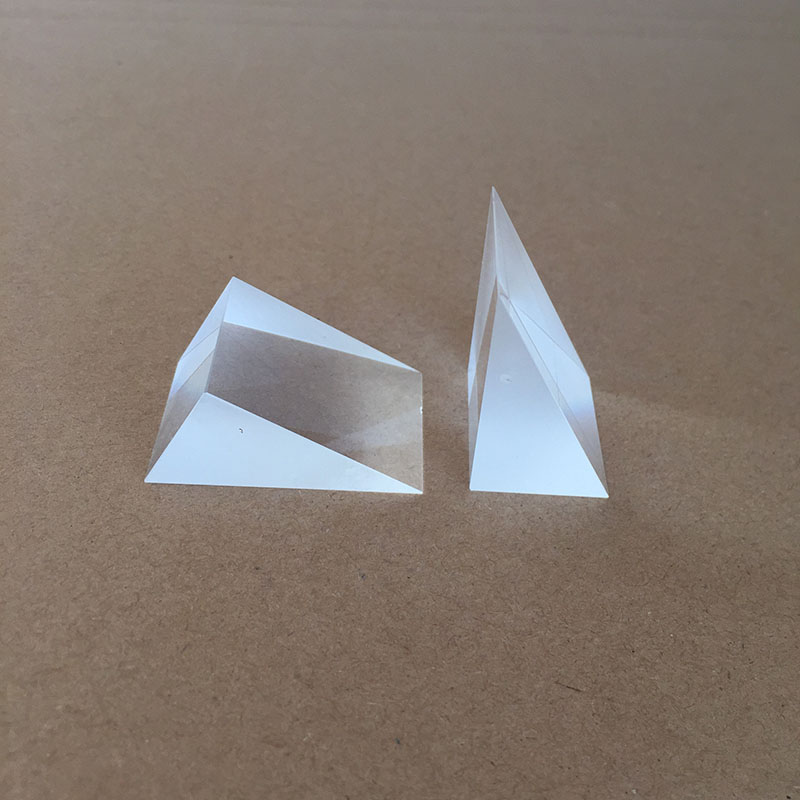 Right Triangle Prism Lazy Glasses 30 Degree Large -angle Surface Plating Inner Anti-Mitsubishi
