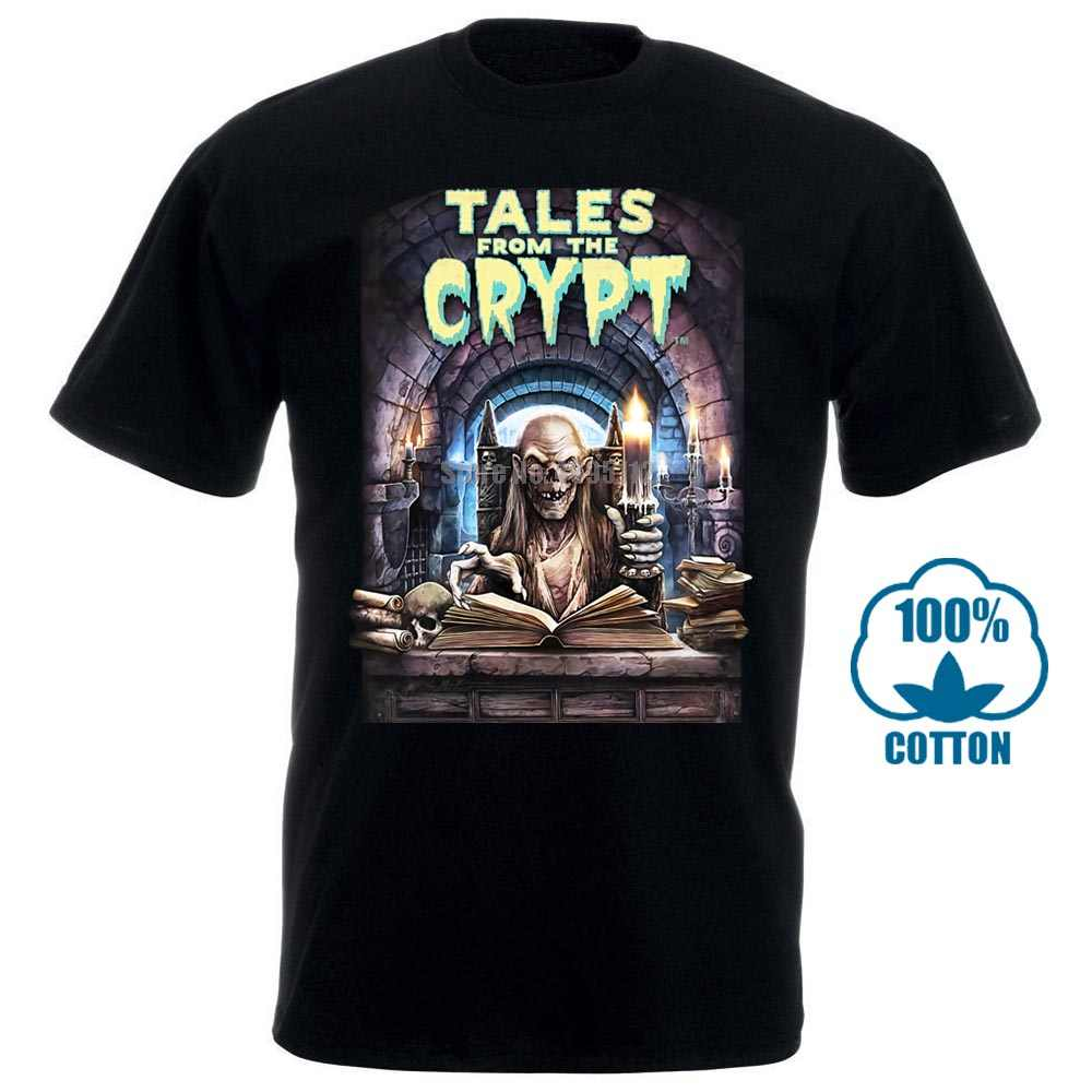 Tales From The Crypt Movie Men'S Grappige T-shirts Streetwear Harajuku Tshirt Gymer T-shirts Korte Mouwen Heren Top 012426
