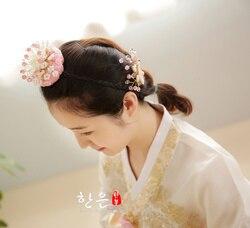 Zuid-korea Originele Import Asi Haar Touw, Bruiloft Tiara Stage Performance Hoofddeksel Haarbanden voor Vrouwen Koreaanse Hoofdband
