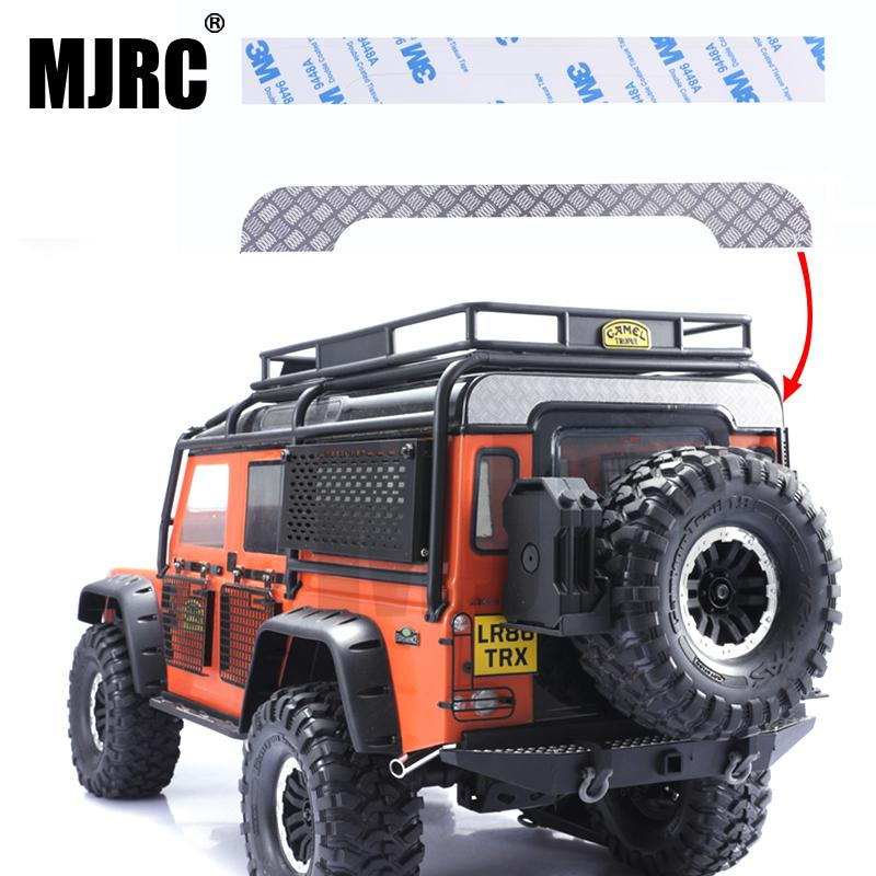 Applicable To Traxxas TRX4 TRX-4 Defender D110 Simulation Car Shell Decorative Board Anti-Skateboard Reflector Decorative Strip