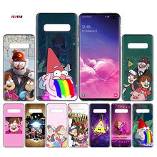 Gravity Falls Black TPU Case Cover For Samsung Galaxy Note 8 9 10 10+ S8 S9 S10e Plus 5G A30 A50 A70 A30s A50s Coque(China)