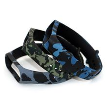 Durable Soft Camouflage Silicone Wristband Replacement Watch Band Strap For Xiaomi Mi 4 3 Smart