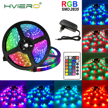цена на 2835 RGB LED Strip 15M 20M Led Light Tape SMD 2835 5M 10M DC 12V Waterproof RGB LED Light diode Ribbon Flexible Controller Lamp