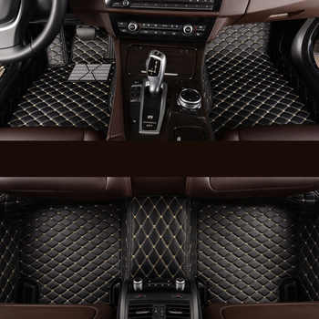 kalaisike Custom car floor mats for BMW all model 535 530 X3 X1 X4 X5 X6 Z4 525 520 f30 f10 e46 e90 e60 e39 e84 e83 car styling - DISCOUNT ITEM  67 OFF Automobiles & Motorcycles