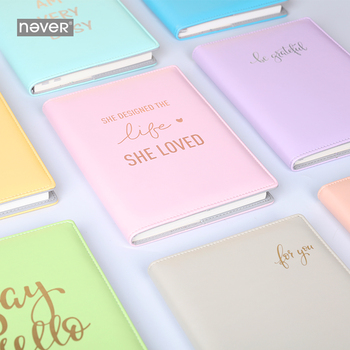 Never Brand A5 Notebook Fixed Page Notebook ruled Page Solid Letter Series Diary Agenda Planner Note Book Stationery Notepad for asus notebook motherboard b53e b53e s model 100 page 2 page 4