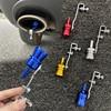 Universal som simulador carro turbo som apito silencioso veículo reequipamento tubo de escape turbo som apito acessórios do automóvel