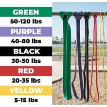 Elastique de résistance unisexe,bande en caoutchouc élastique pour fitness, yoga, boucle extensible équipement de sport pour exercices, 208 cm,