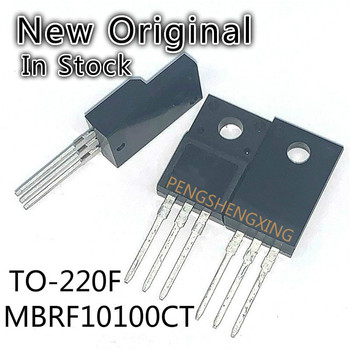 10PCS/LOT MBRF10100CT TO-220F 10100 MBRF10100 TO220F 10A 100V New original spot hot sale image