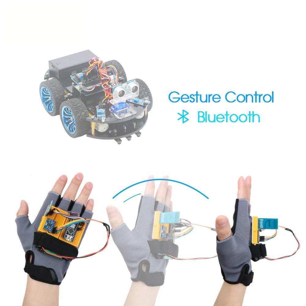 Gesture-Motion Starter Kit For Arduino Nano V3.0 Robot Educational Stem Cars Toys MPU6050 6 Axis Accelerometer Gyroscope Module