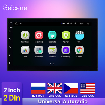 Seicane 7 Android 9.1 2 Din WIFI Car Radio Stereo GPS Navi Multimedia Player For TOYOTA Nissan Kia Honda VW Hyundai support DVR image