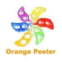 1PC オレンジピーラースケーラーカッター Zester レモンスライオープナーカッターオレンジヘアリムーバーデバイスキッチンガジェットランダムな色