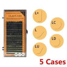 Оптовая продажа 5 чехлов 16 рядов 7 ~ 15 мм l/l +/lc/ld/lu(m)/n