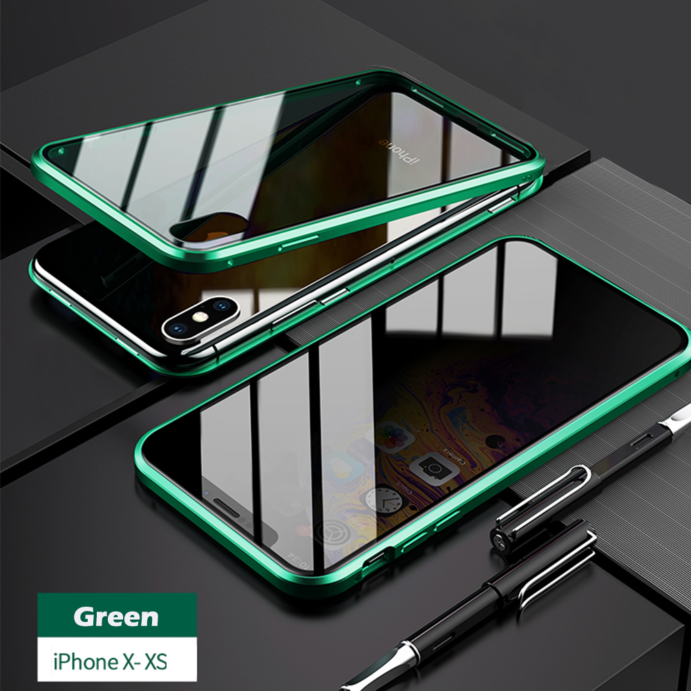 for iPhoneX XS green