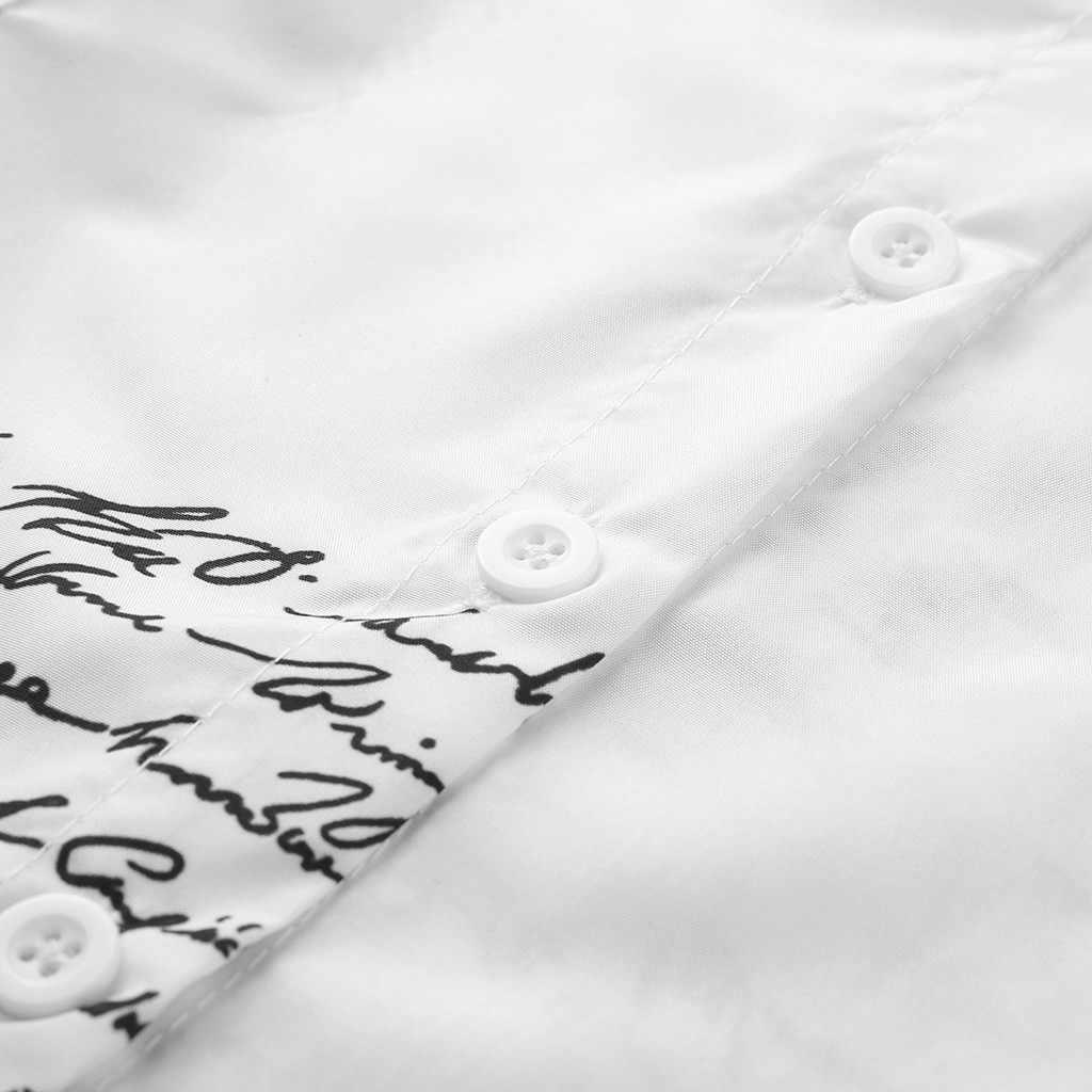 Bộ Quần Áo Nữ Trắng Áo Đầm Công Sở Nữ Cổ V In Chữ Một Hình Mỏng Dài Tay Đầm Dự Tiệc văn Phòng Nữ Đầm Ngắn
