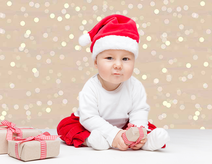 Allenjoy photography backdrops Christmas shiny light baby celebrate party photocall background for photo studio photophone vinyl in Background from Consumer Electronics