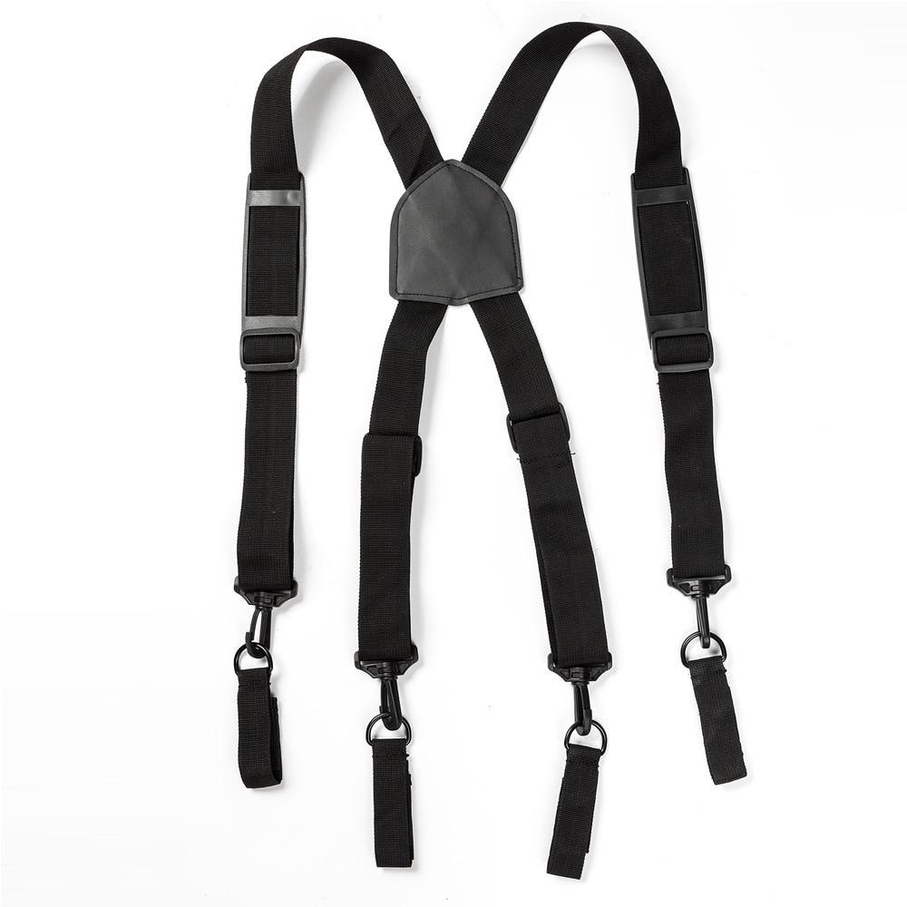 Heavy Duty Work Tool Belt Suspender Tooling Sling Multifunctional Suspension Heavy Sling X-type Combat Readiness Sling Tac