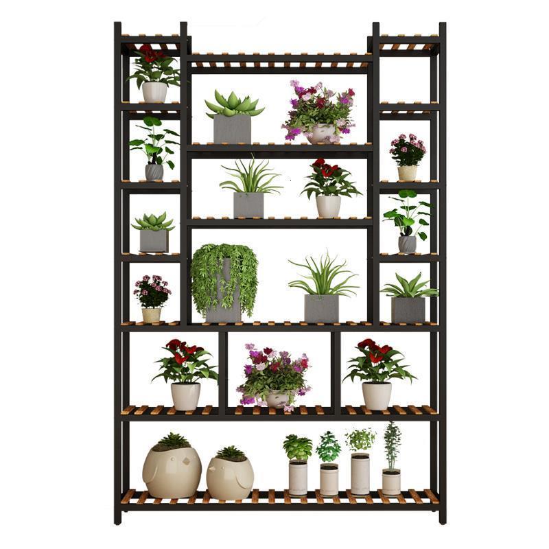 Jardin Estanteria Suporte Flores Repisa Para Plantas Indoor Pot Dekoration Balcony Rack Outdoor Flower Stand Plant Shelf