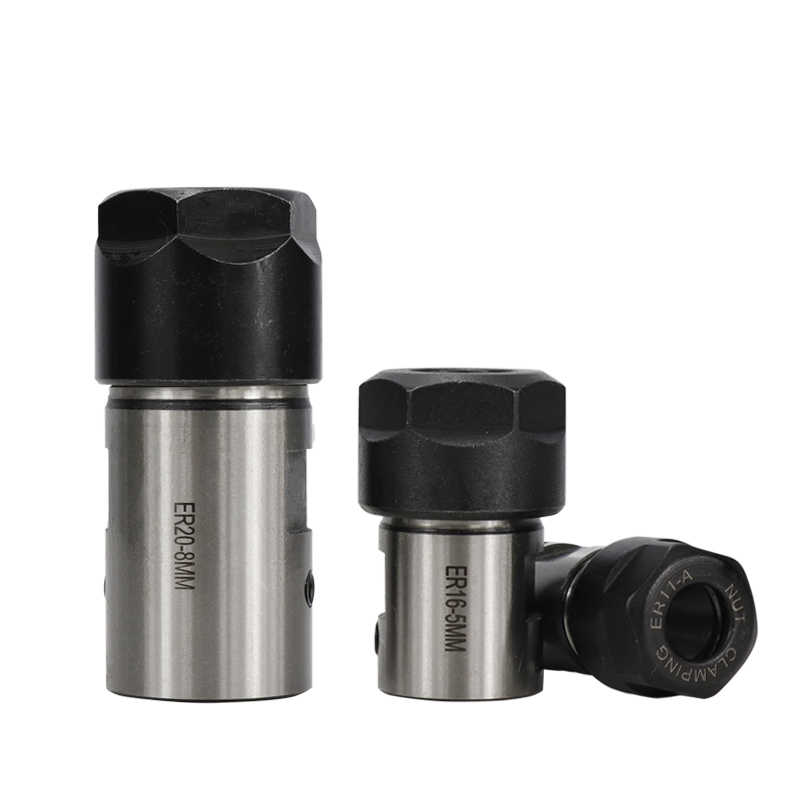 XCAN 1 шт. ER11 ER16 ER20 цанговый зажимной вал токарные инструменты удлинитель шпинделя 4 мм 5 мм 6 мм 6,35 мм 8 мм 10 мм 12 мм 14 мм 16 мм