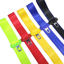 цена на New 2 pcs Universal 2.1cm car seat belt elbow lock tongue safety belt replacement insert car seat belt accessories multicolor