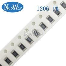 100pcs 1206 1% SMD resistor 1/4W 6.04R 6.19R 6.2R 6.34R 6.49R 6.65R 6.8R 6.81R 6.04 6.19 6.2 6.34 6.49 6.65 6.8 6.81 ohm