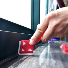 2 шт силиконовый стеклянный герметик набор инструментов для удаления скребка Шпаклевка прессформы удаление полезный инструмент для домашнего шпателя лопатка для клея