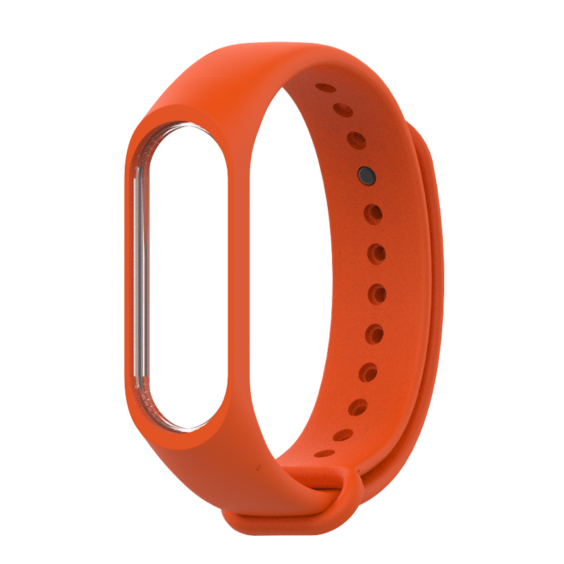 Mijobs for Xiaomi Mi Band 3 4 Sport Strap watch Silicone wrist strap For xiaomi mi band 3 4 bracelet Miband 4 3 Strap in Smart Accessories from Consumer Electronics