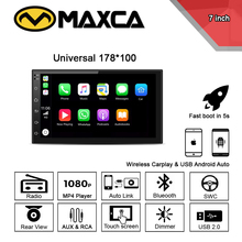 MAXCA 7 inch 2 din Wireless Carplay radio For Nissan Sunny J
