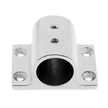"10 Marine Stainless Steel Boat Hand Rail Fitting 1 ""Rectangle Stand"