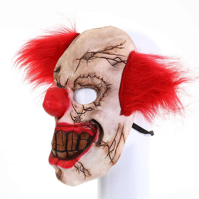 Latex Half Face Nose /& Mouth Mask Devil Gory Cosplay Clown Joke Novelty
