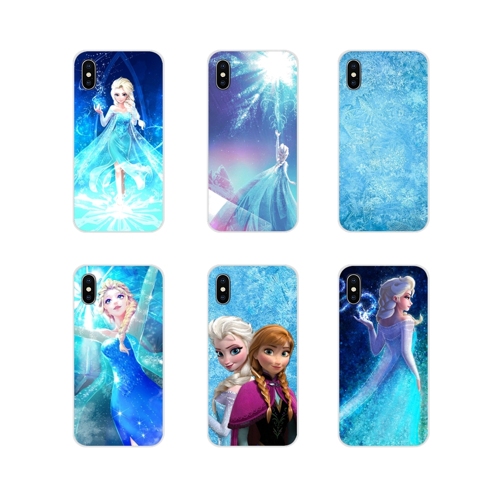 Frozen Accessories Phone Cases Covers For Apple iPhone X XR XS 11Pro MAX 4S 5S 5C SE 6S 7 8 Plus ipod touch 5 6